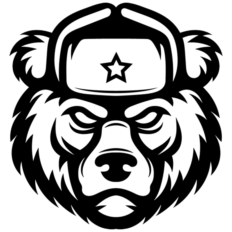 CK2266#16*15cm Bear With Earflaps Funny Car Sticker Vinyl Decal Silver/black Car Auto Stickers For Car Bumper Window