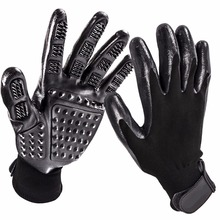 Gomaomi One Pair Pet Dog Grooming Gloves