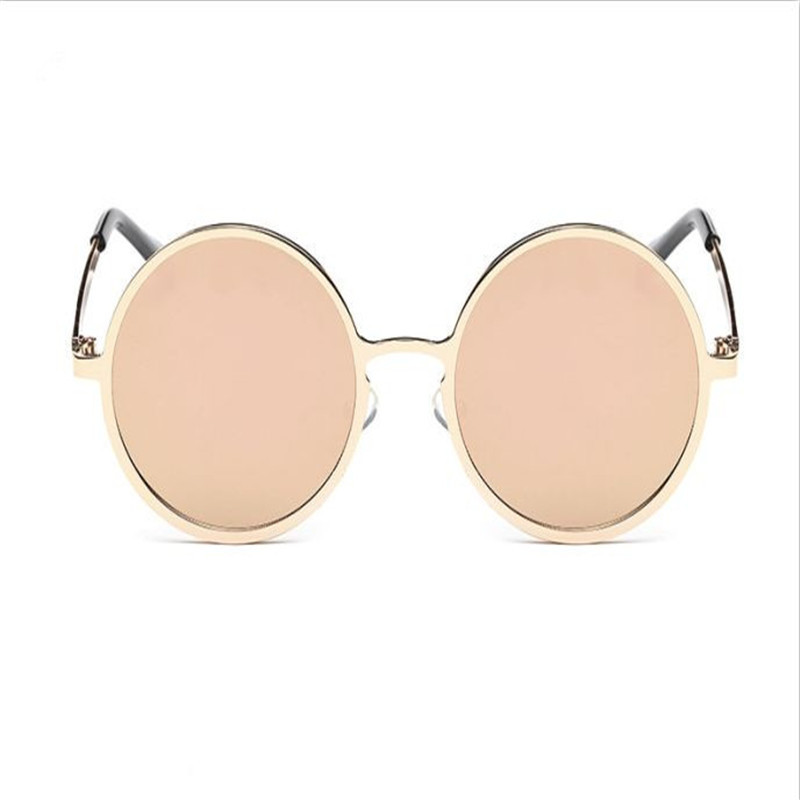 01f5a1ead5d27 Atacado Mulheres Clássicas Liga Rodada quadro Óculos De Sol Dos Homens  Óculos de moda Cor Estilo All-Purpose Reflective lens Óculos