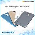 Запасные Части Для Samsung Galaxy S5 Обложка i9600 Корпус Батареи Задней Двери 1 Шт. Бесплатная Доставка