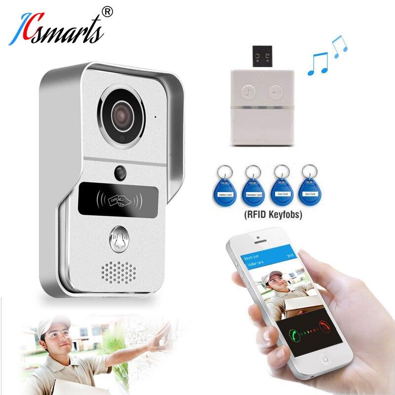Висока якість RFID домофон Wi-Fi домофон цифровий відео дзвінок для домашнього домофона