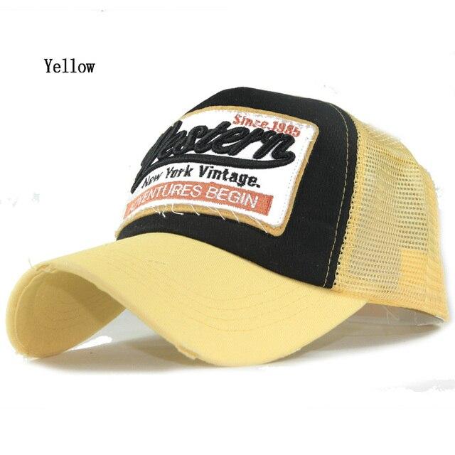Fashion New Men's Baseball Cap Women Gorras Mesh Casual cap Summer Sun Hat wholesale 1