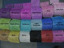 Free Shipping 18colors in Stock 4.75″x1 Yard DIAMOND MESH RHINESTONE Wrap Bling Crystal Ribbon DIY Wedding Cake Party Decoration