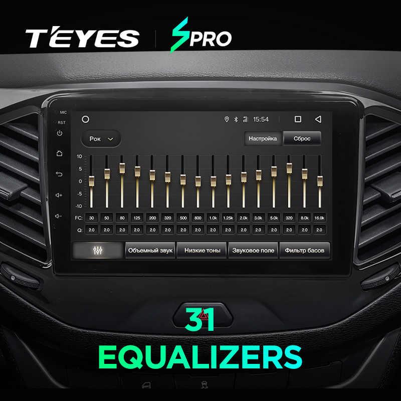 TEYES 用 SPRO Lada ベスタ 2015-2019 カーラジオマルチメディアビデオプレーヤーナビゲーション GPS アンドロイド 8.1 アクセサリーセダンなし dvd 2 din