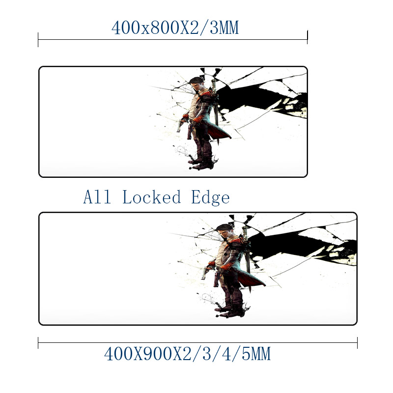 Mairuige Devil May Cry Series Pattern mouse Pad Cool Hadsome HD Images Printing Mice Mat Pad Tabletop Big Gaming Micemat