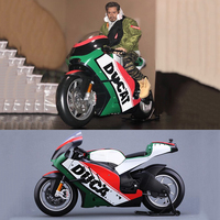 1:6 Scale KTM Motorcycle Motorbike Diecast GP Race Bikes Street Motorbike Toys For Action Figure Scene Construction Display
