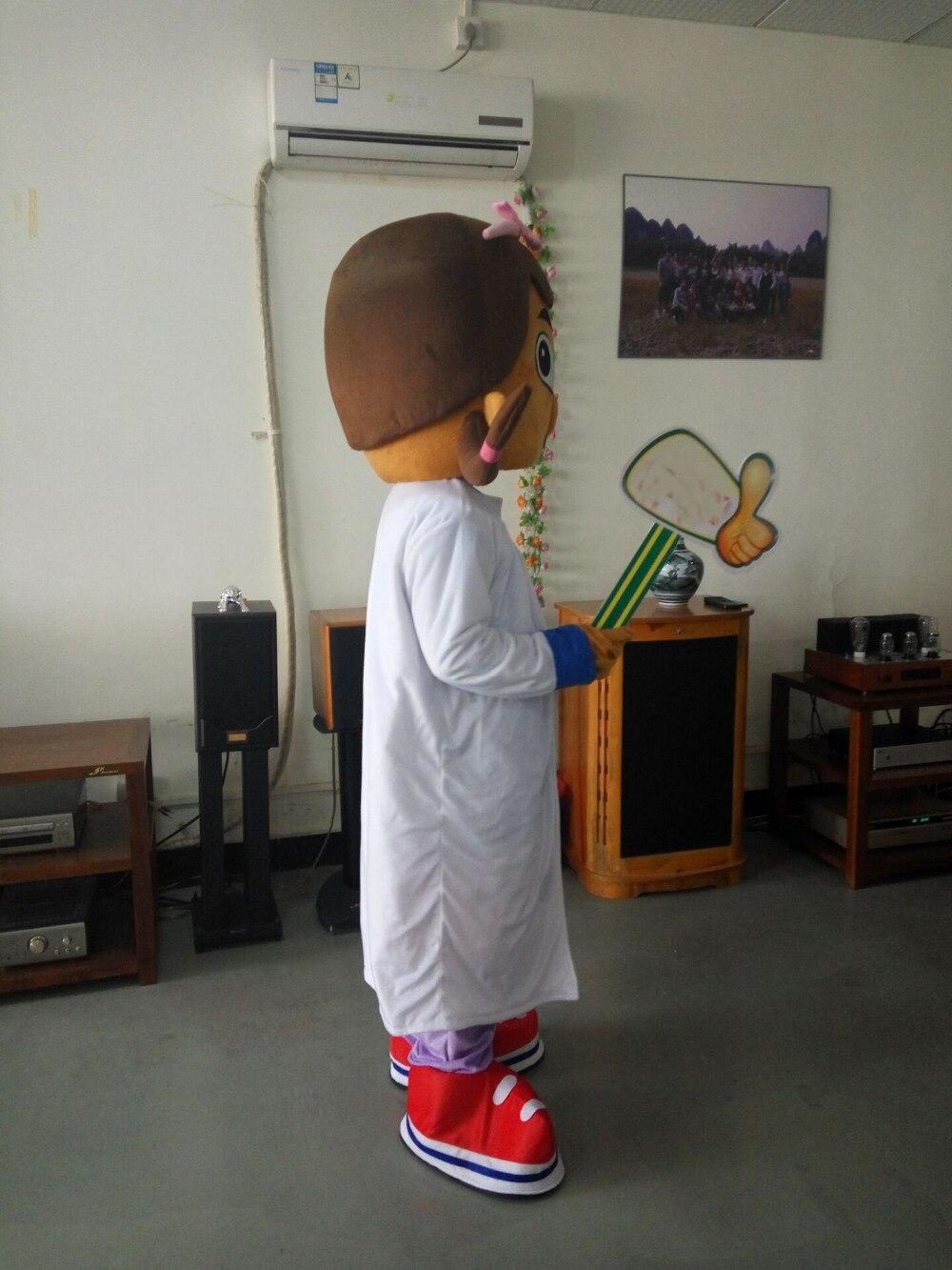 ohlees girls doctor Dottie McStuffins Doc McStuffins Mascot Costume Adult Size Party Costumes Fancy Dress Suit paarty