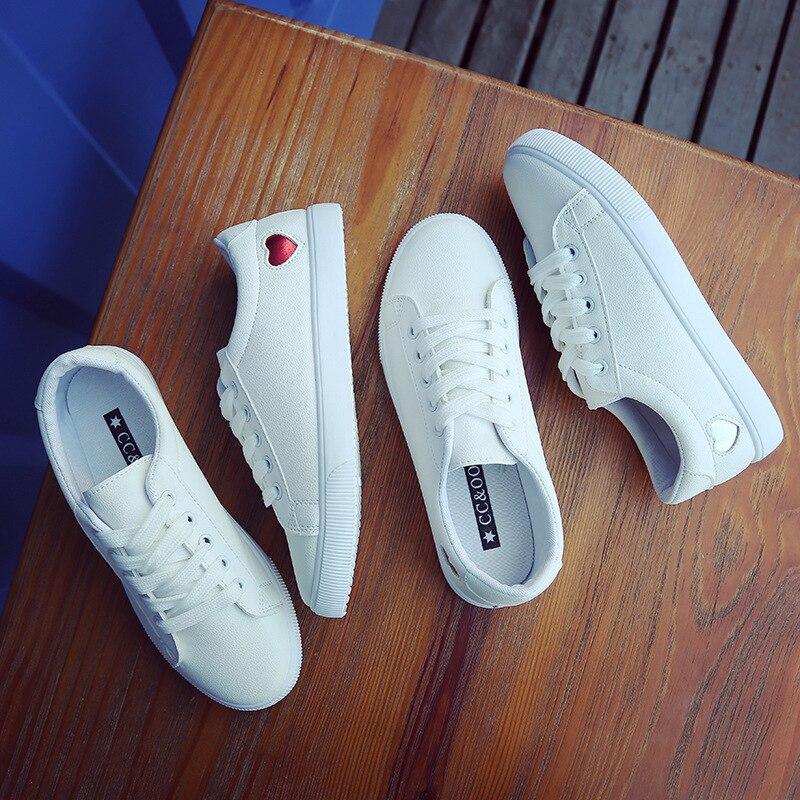 Love chaussures blanches, hommes et chaussures pour femmes, décontracté