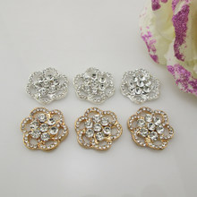 (BT150 21 Mm) 20 Pcs Del Rhinestone Flatback Della Lega Ornati E Decori(China)