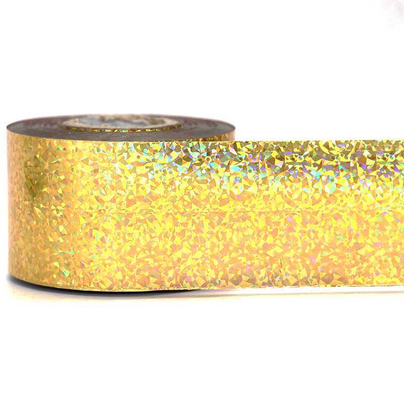 1Roll Holographic Nail Foils 120m*4cm Laser Gold Cat's Eye Nails Art Transfer Stickers Adhesive Nail Polish Manicure Nail Tips 120m 4cm 1 roll holo nail transfer foils laser red fine sand nails art transfer stickers manicure nail art decorations tips