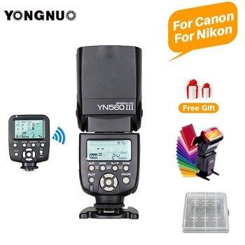 YONGNUO YN560III YN560 III General Wireless Flash Speedlite + YN560TX II Trigger For Canon t6 1300d 5d mark iv Nikon d3400 d5100