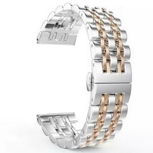 2017 Butterfly Lock Stainless Steel Bracelet Strap For Apple Watch Band With Connector Adapter For iwatch Watchband 38mm 42mm 1 pair upgrade quick release stainless steel watch band adapter connector for apple watch iwatch 42mm 38mm strap connector
