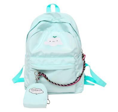 2019 summer new backpacks female campus junior high school student casual bag2019 summer new backpacks female campus junior high school student casual bag