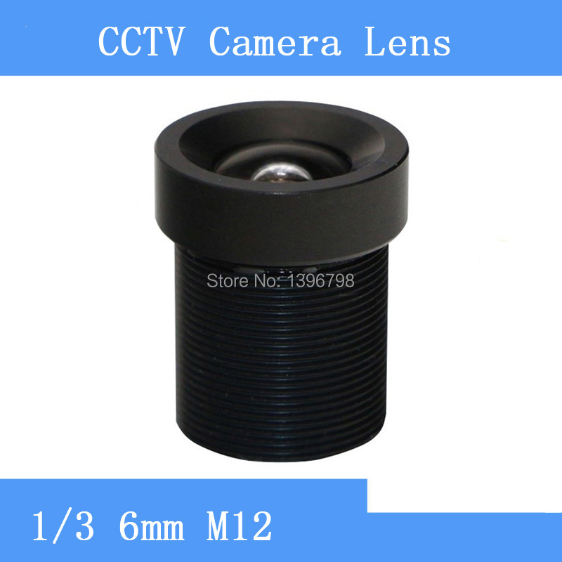 PU`Aimetis Factory outlets CCTV Lens 6mm 60 Degree Wide Angle Lens Fixed CCTV Camera IR Board M12 Lens 1 3 sharp cctv m12 2 1mm pinhole board camera wide angle lens 150 degree f2 0