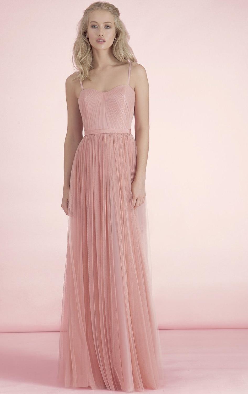 2016 promoción color Coral dama de honor vestidos 2016 diseñador ...