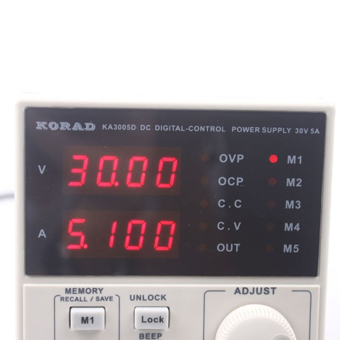 2017 New KORDA KA3005D adjustable digital DC power supply 30v 5A new digital 6 30