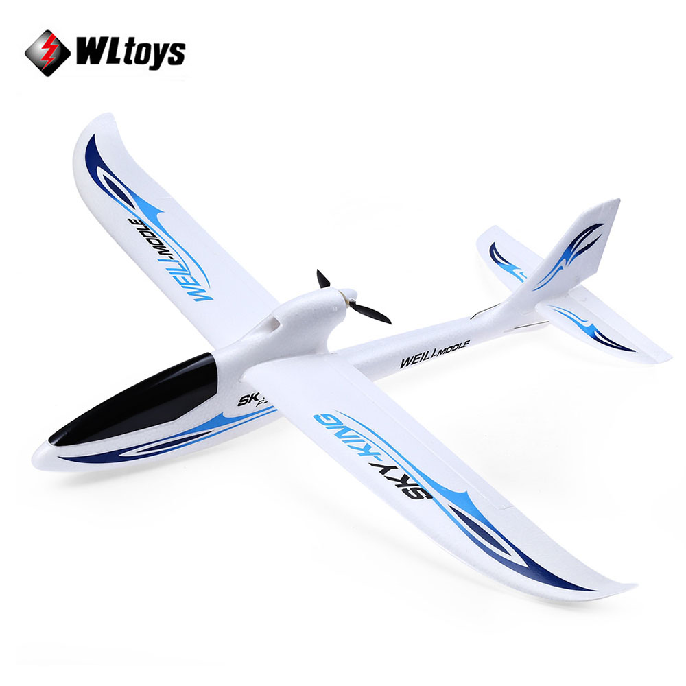 Original WLtoys F959 Sky King RC Aircraft 3CH 2.4GHz Rechargeable Li-Po Battery Wireless Remote Control Aircraft RC Airplane 3pcs 3 7v 900mah li po battery 3 in 1 green us regulation charger and charging cable for rc xs809 xs809hc xs809hw aircraft
