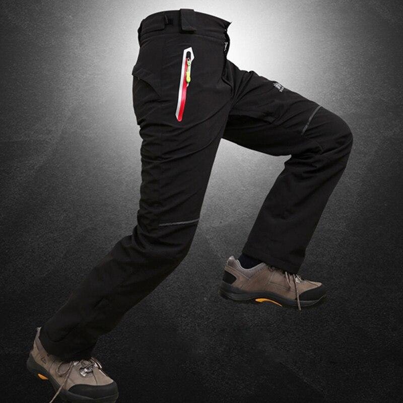 Prix pour En plein air Hommes Hiver Épaissir Chaud et Imperméable Deux pièces Amovible Pantalon De Ski Snowboard Pantalon Et Snowboard Ski