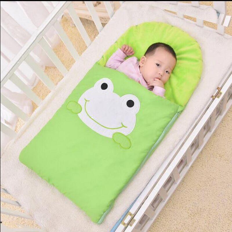 frog-newborn-sleeping-bag-sleeping-bag-winter-stroller-bed-swaddle-blanket-wrap-bedding-cute-baby-sleeping-bag-2