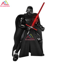 KSZ Star Wars 8 The Last Jedi Kylo Ren Captain Phasma Rey Poe Dameron Finn Figure Toys Building Blocks B267