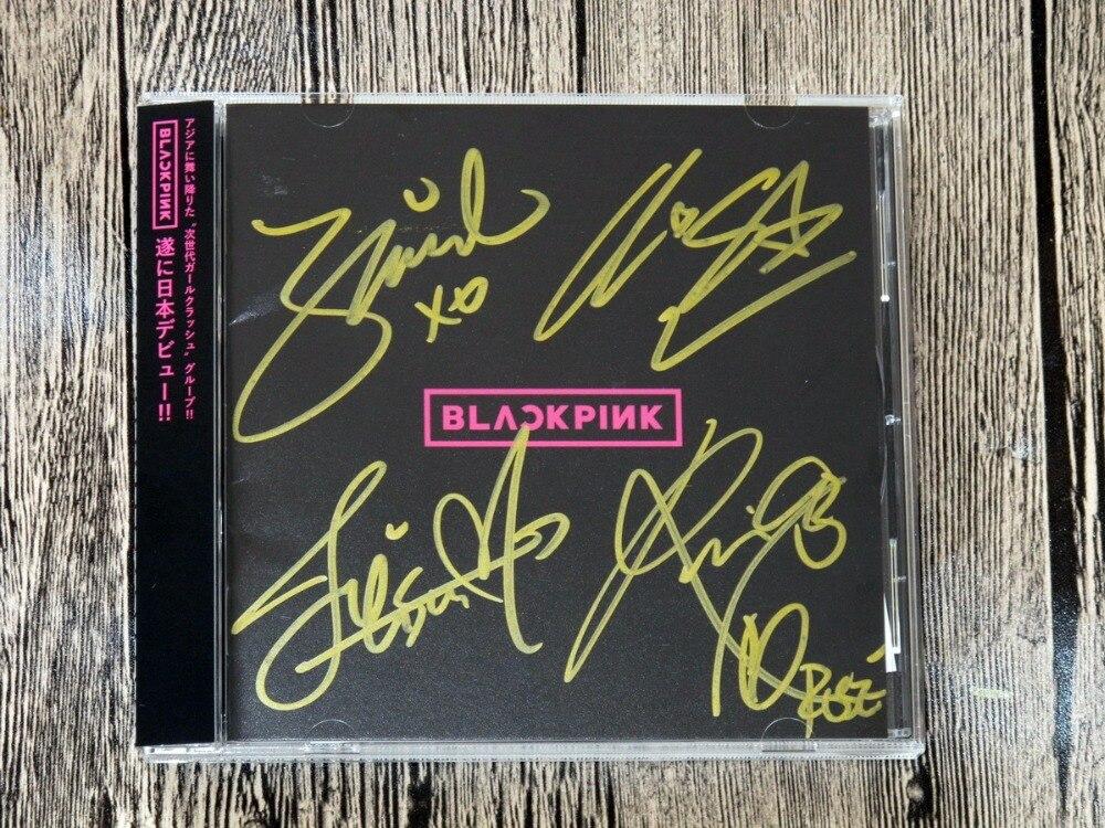 Signé BLACKPINK autographiée d'origine premier album BLACKPINK Japonais version 102017