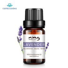 EXPRESSIONS 100% Pure Lavender Essential Oil for Acne Treatment Fade Acne Marks Remove Whelk Shrink Pore Face Care Help Sleep