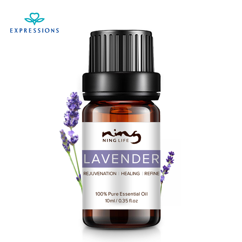 10ML 100% Pure Lavender Essential Oils Beauty Skin Care Massage Oil Cleanser Anti Wrinkle Essential Oils for Aromatherapy
