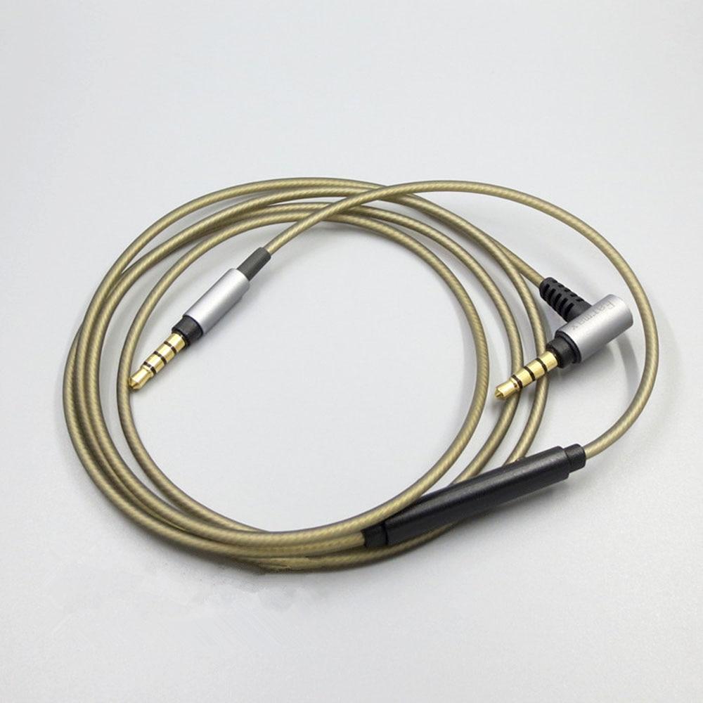 Argent Plaqué mise à niveau Audio Câble Pour SONY MDR-XB950N1 MDR-1000X MDR-100AAP 100ABN XB950BT MDR-1A MDR-1ADAC MDR1ABT casque