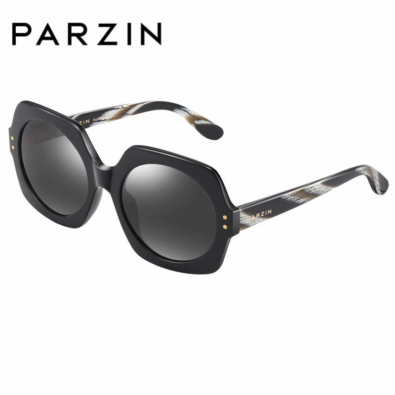 PARZIN Cool Designer Women Square Sunglasses High Quality Polarized Driving Sunglasses Fashion Accessories Big Sunglasses 9740
