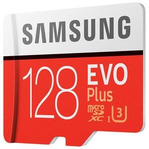 Image 3 - Samsung cartão tf MB MC EVO Mais microSD128GB UHS I cartão de memória cartão de memória flash de 128 GB U3 Class10 4 K UltraHD microSDXC