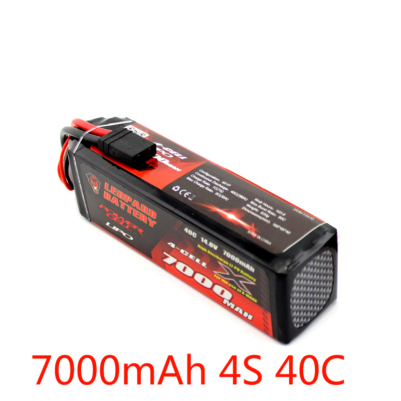 Leopard 14.8V 7000mAh 4S X-MAXX8S special battery continuous 40C instant 80C superviolence free shipping dunlop winter maxx wm01 205 65 r15 t