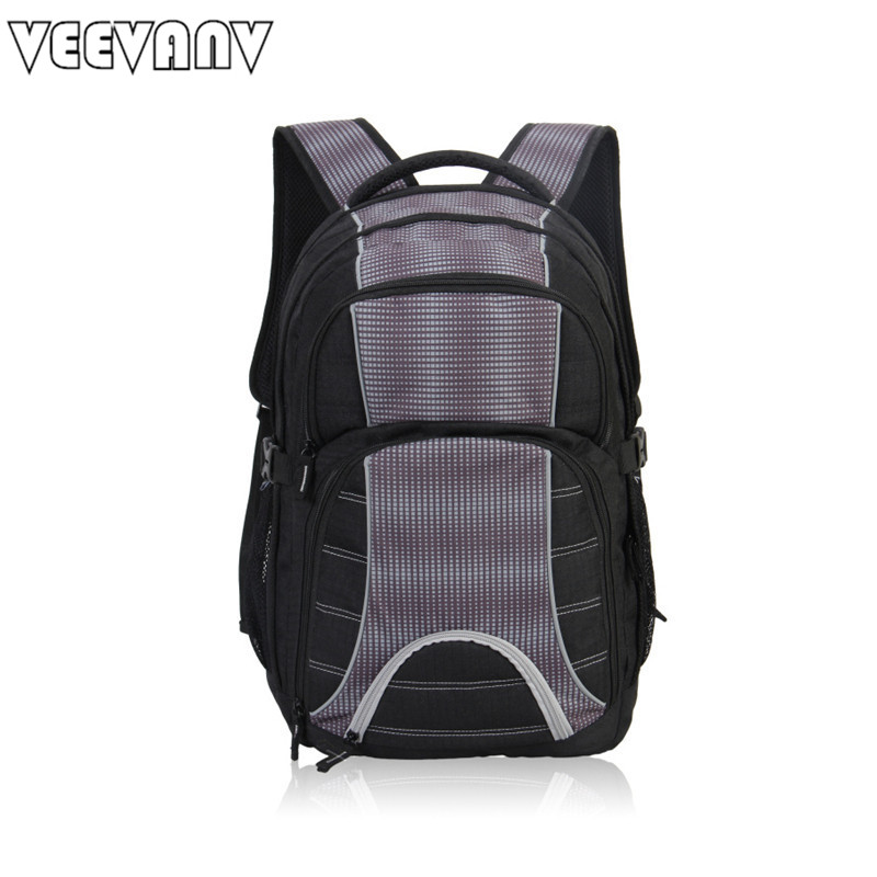 VEEVANV New 2017 Business Backpacks PVC Waterproof Laptop Backpacks New Fashion School Shoulder Bag Big Travel Backpacks For Man