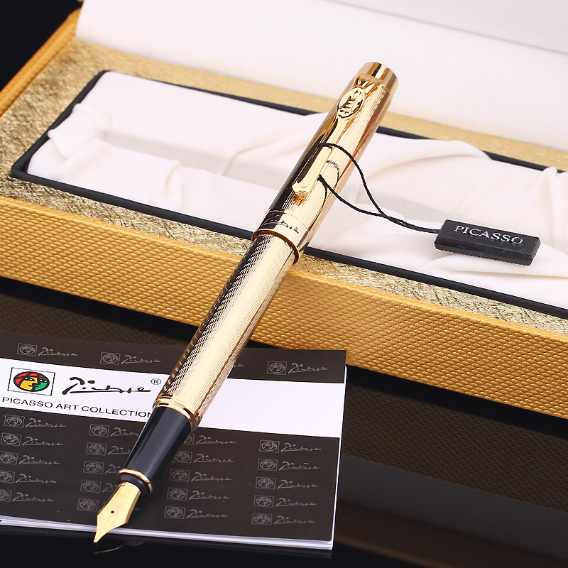 Pimio PS933 Avignon Iridium Golden Pens Men and Women Business Gifts Office Gift Ink Pen avignon джинсовая верхняя одежда