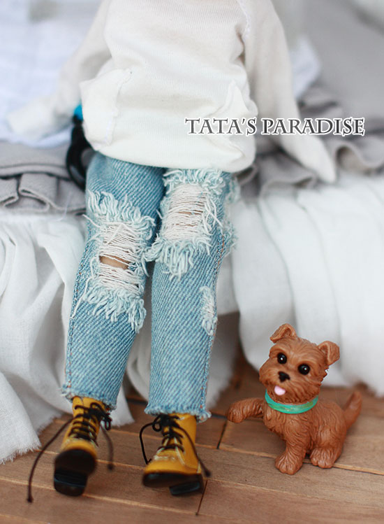 doll clothes jean pants for blythe azone licca Doll accessories famosa doll clothes 36cm nenuco original doll accessories doll clothes for 40cm sharon doll