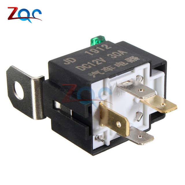 US $1 82 7% OFF|12V 30A 4 Pin 4P Metal Heavy Duty Car Motor Automotive Fuse  Fused Relay SPST MO-in Relays from Home Improvement on Aliexpress com |