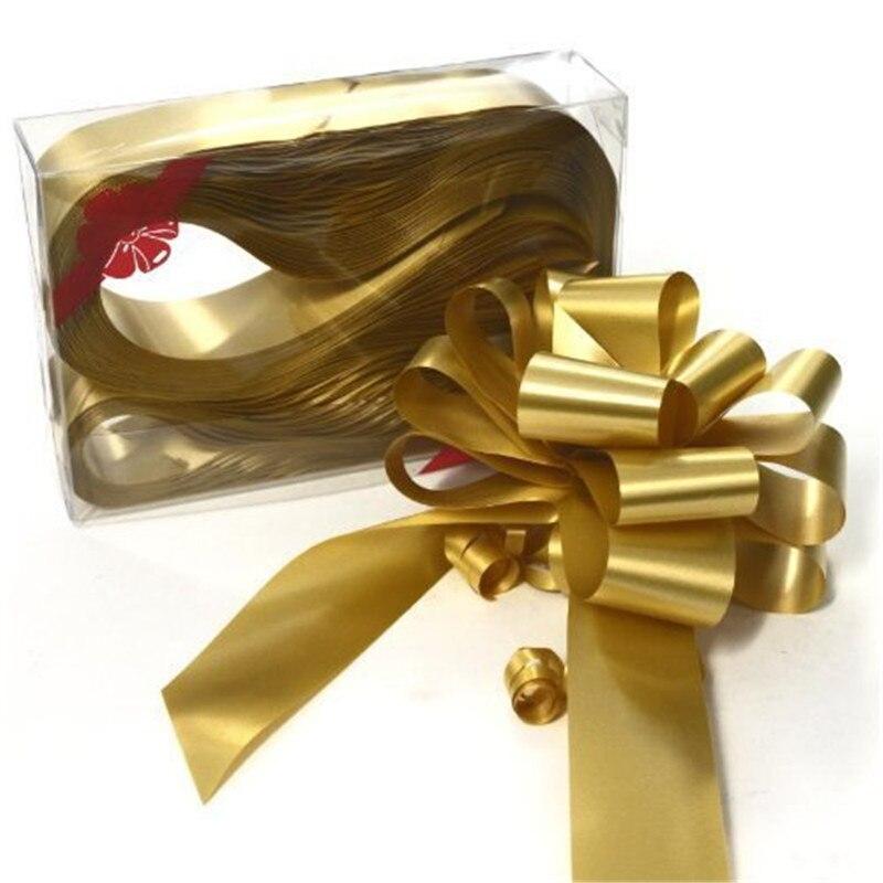 10 pçs/lote Arco Puxar a Fita para Artesanato, Decoração Do Casamento, Presente Embalagem 30mm 7LH01