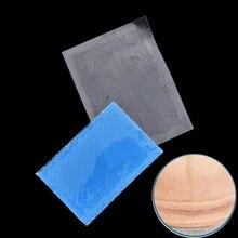 1 шт силиконовый пластырь для удаления шрамов гель от угрей терапия многоразовый силиконовый пластырь для удаления травм и ожогов лист для восстановления кожи 5 см х 3,5 см