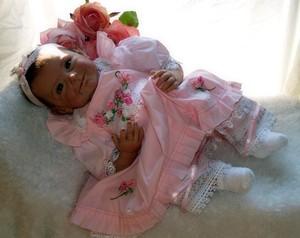 Image 3 - NPK lifelike boneca reborn baby doll soft real touch vinyl silicone toys for children on birthday brinquedo menina