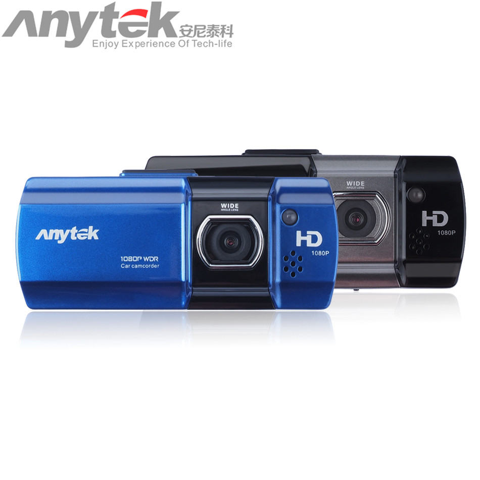 Original Anytek AT550 Novatek 96650 Car DVR Full HD 1080P Motion Detection Vehicle Car Camera G