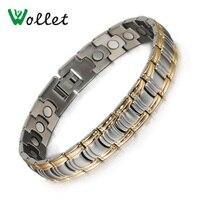 Wholesale Fashion Jewelry Magnetic Women Stainless Steel Bracelet