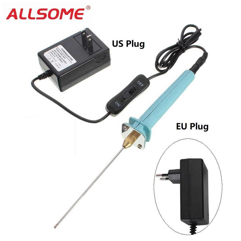 small resolution of allsome pen cutter electric styrofoam cutter hot wire styro foam cutting knife tools eu us plug