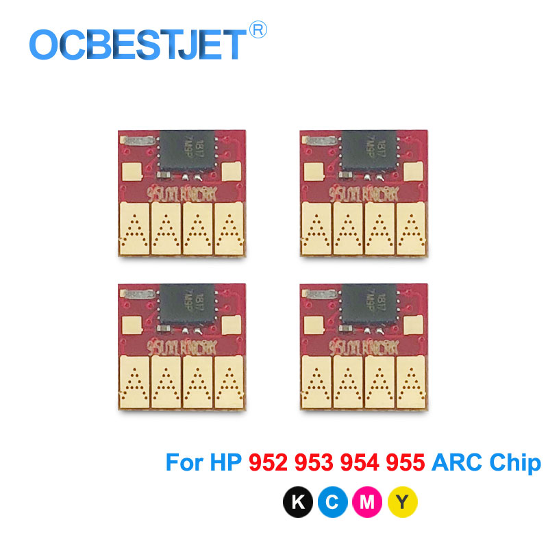 ARC Chip For HP 952 953 954 955 952XL 953XL 954XL 955XL For HP Officejet 7740 8210 8710 8715 8720 8725 8730 8740 Permanent Chip