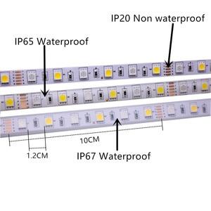 5 м 5050 SMD Светодиодная лента RGB RGBW (RGB + белый) RGBWW (RGB + теплый белый) RGBCCT Гибкая светодиодная гирлянда 5 м/300 светодиодов 12 в 24 В для дома