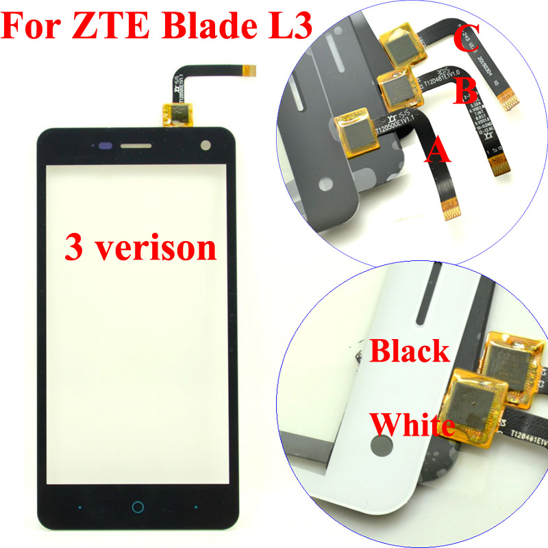 5 0 inch New Touch Screen Digitizer Panel For ZTE Blade HN V993W L3 Smartphone Front