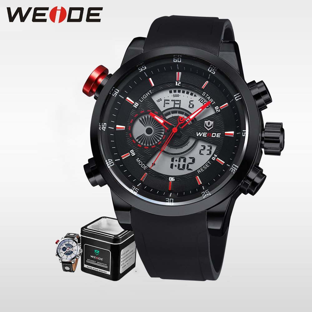 WEIDE Top Brand Luxury Men Running Digital LCD Digit Water Resistant Sports Watches Military Relogio Masculino Clock / WH3401 ti 30x iis scientific calculator 10 digit lcd