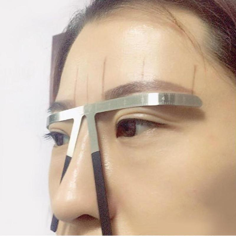 Permanent Eyebrow Stencil Microblading Measure Makeup Tattoo Ruler Tools Magical Grooming Shape Model High Quality Dropshipping