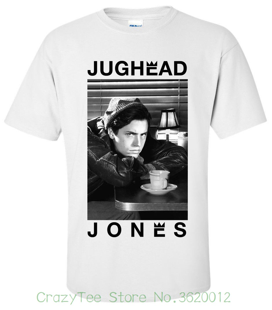 T-shirts Jughead Jones Stay Weird T-shirt Riverdale Cole Sprouse Womens Cotton Tops Tee Fashion Women Tshirt B53 And To Have A Long Life. Tops & Tees