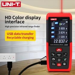 UNI-T Laser Distance Meter USB 100m 50m 70m Rangefinder UT395A UT395B UT395C Trena a laser Profissional Tape Measure Digital