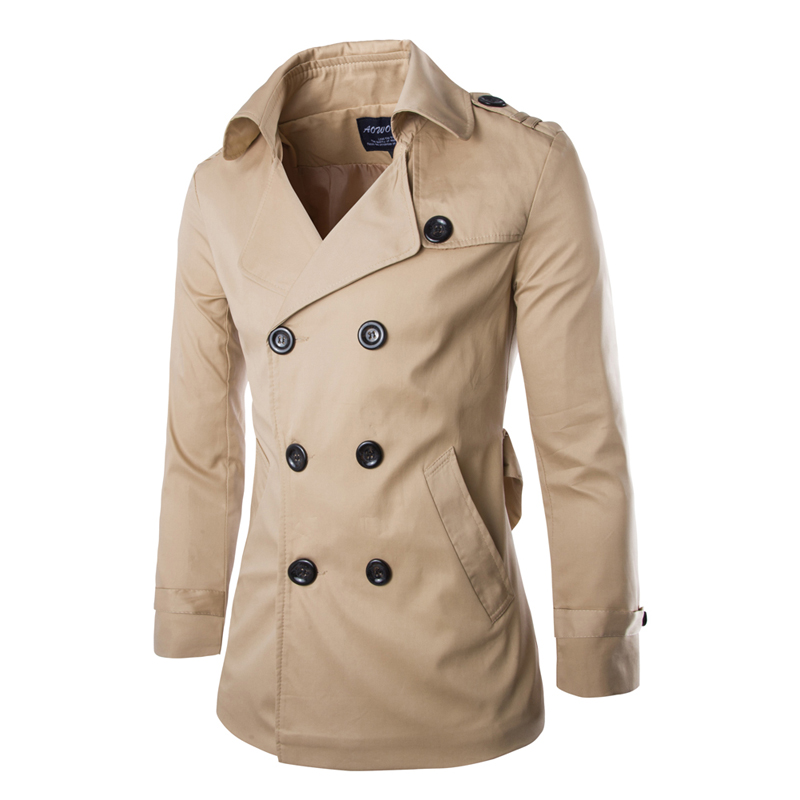 Popular Trench Homme-Buy Cheap Trench Homme lots from China Trench ...
