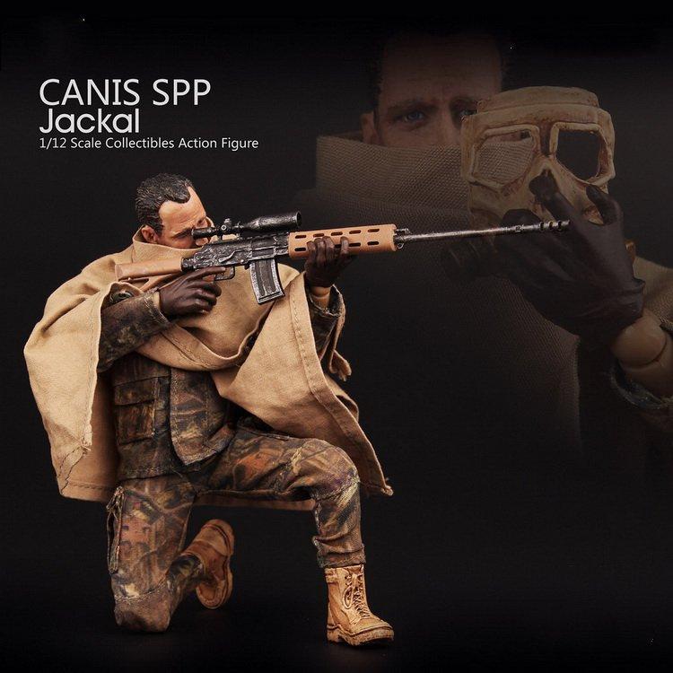 Estartek V00011 YEW Series 1/12th Scale CANIS SPP Jackal 1:12 Action Figure цена